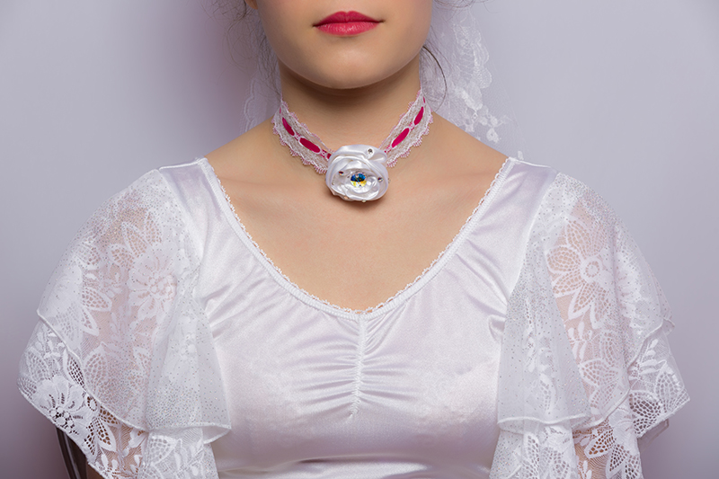 collier bijou choker made in france artisanal