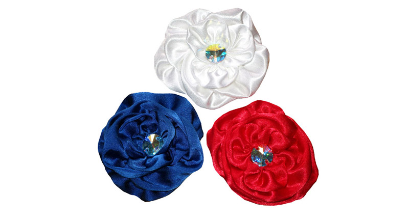 flowers-made-in-france-tricolors-hand-made blue-white-red-strass-swarovski