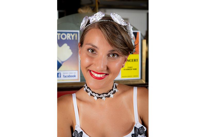 choker collier bijou fait main noir blanc made in france accessoire strass swarovski cadeau souvenir