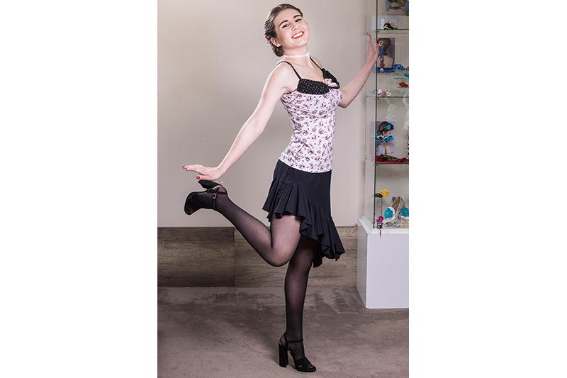 jupe-noir-made-in-france-volant-asymetrique-danse
