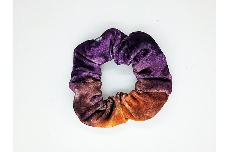 chouchou cheveux scrunchie made in france velours