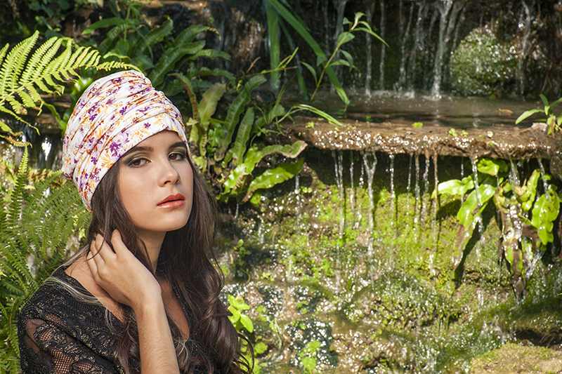 turban femme cancer chimio alopecie made in france
