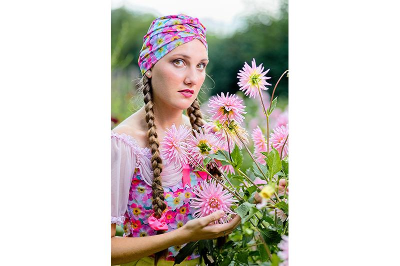 turban a fleurs cancer chimio made in france fait main octobre rose