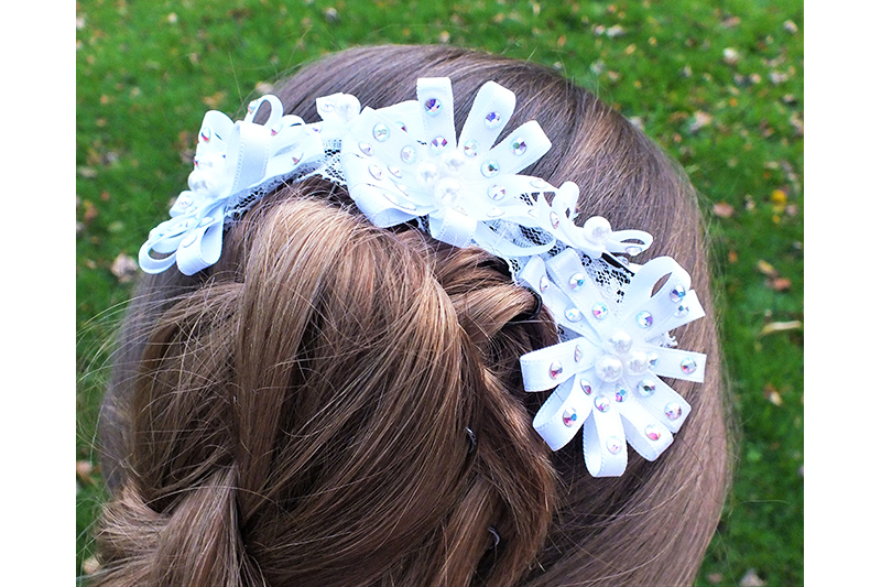 accessoire cheveux coiffure mariee mariage fait main made in france
