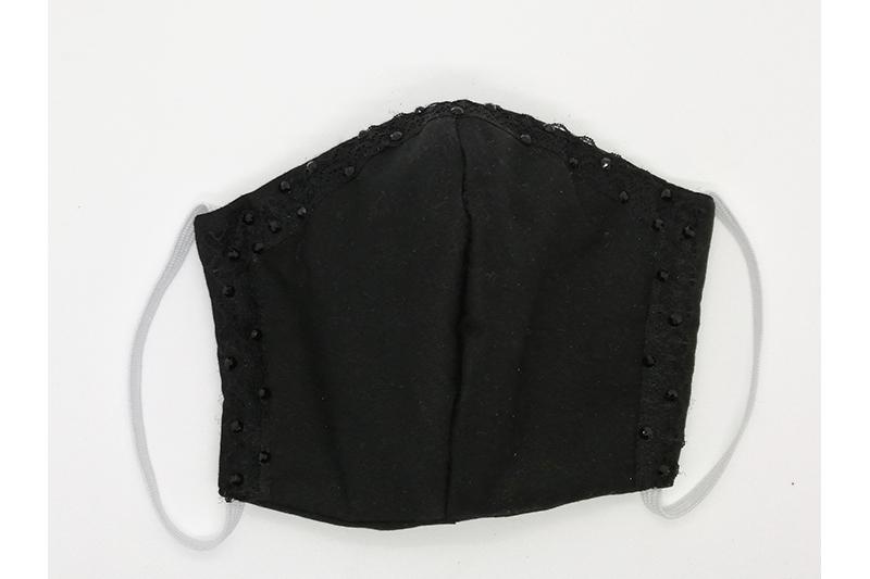 masque alternatif black widow made in france facial