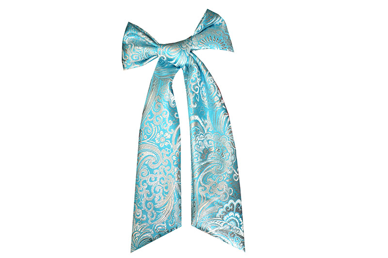 noeud-catogan-made-in-france-fait-main-baroque-brocart-turquoise-accessoire-mixte-coiffure-