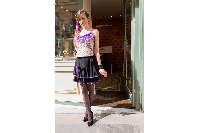 mini-jupe-volants-biais-noeud-violet-danse-pret-a-porter-girly-