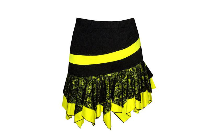 jupe-noir-jaune-asyletrique-made-in-france-dentelle-lycra-danse-latine