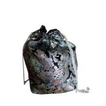 sac-accessoire-made-in-france-amonier-bourse-fait-main-artisanat-français-cadeau-souvenir-noir-argent-chainettes-cadeau-souvenir-mode-medieval
