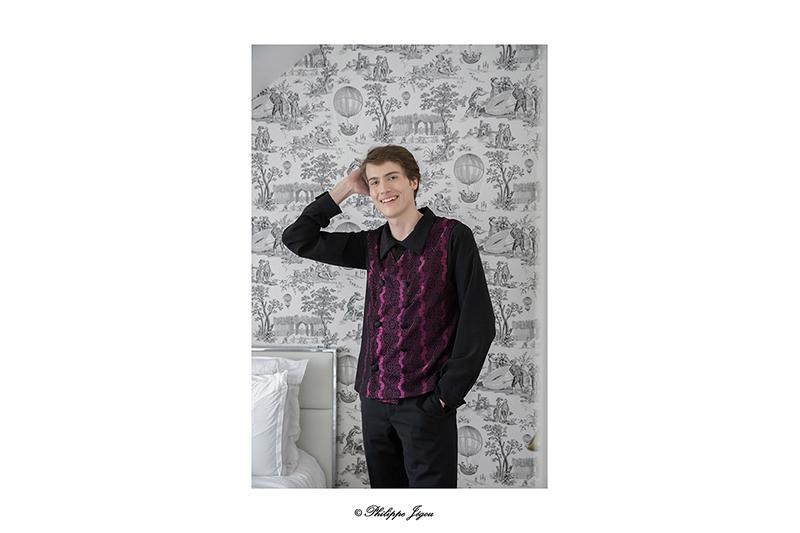 gilet-homme-mode-masculine-pret-a-porter-style-dandy-steampunk-brocart-violet-noir-mace-in-france-chic-elegant