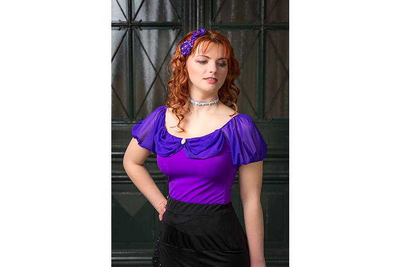 haut-pour-femme-lycra-violet-made-in-france-mode-romantique-second-empire