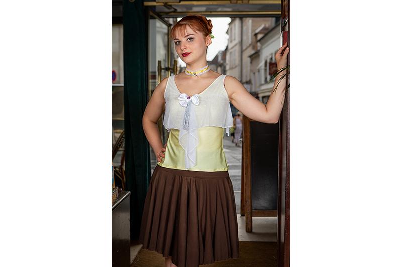 jupe-marron-dansante-made-in-france-pret-a-porter-luxe-femme-paris