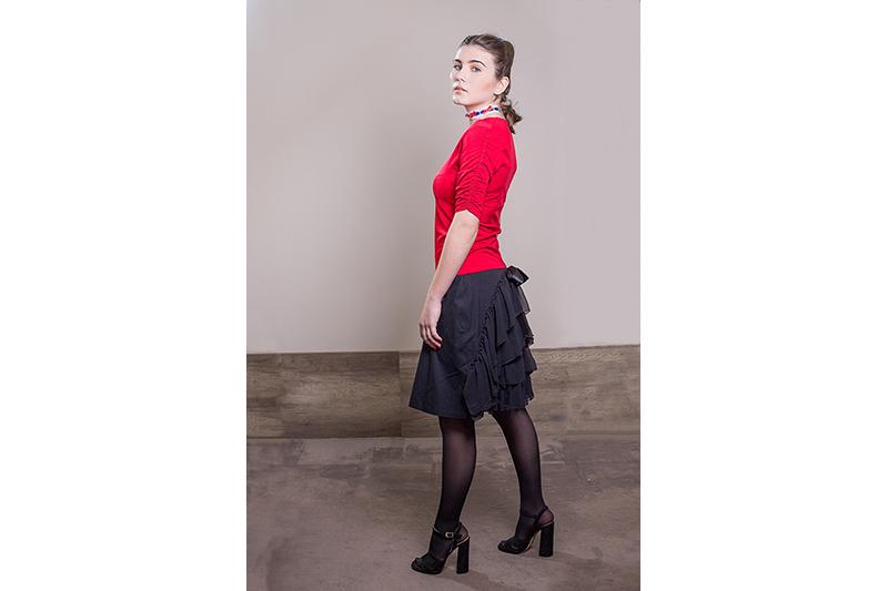 jupe-made-in-france-volants-pret-a-porter-luxe-a-theme-xix-siecle-noir-mousseline-noeud-elegant-romantique-original