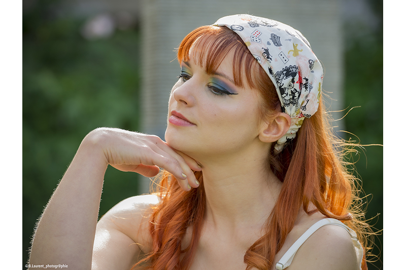 bandeau headband accessoire cheveux femmes coiffure alice au pays des merveilles made in france fait main conte de fées