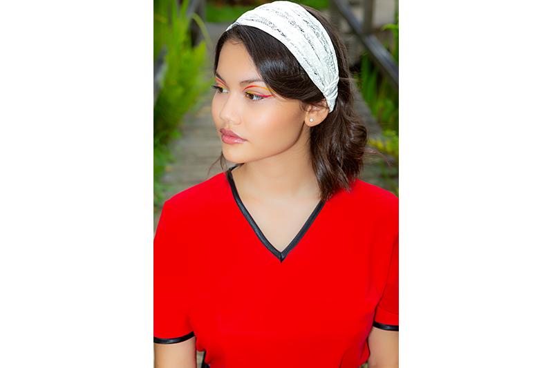 bandeau made in france dentelle ivoire accessoire cheveux headband