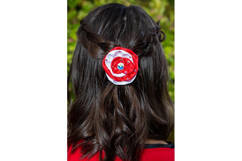 accessoire cheveux made in france barrette fait main bijou de cheveux