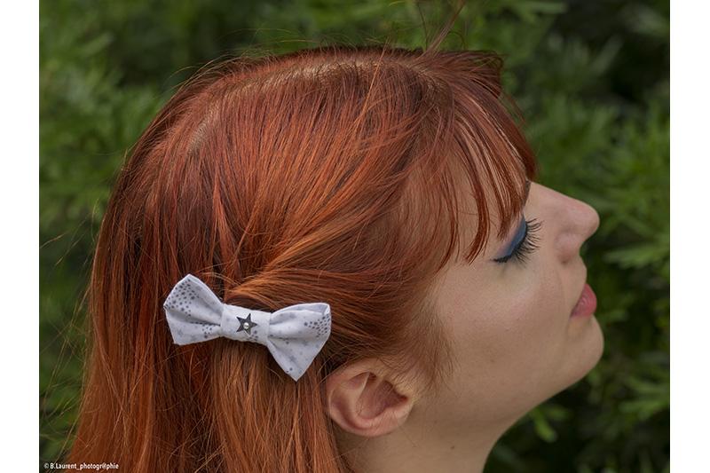 barrette accessoire cheveux made in france fait main