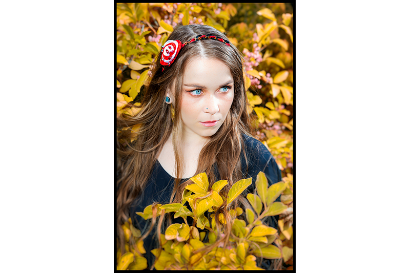 headband bijou de tete made in france alice au pays des merveilles disneybound obscur peignons ces roses en rouge