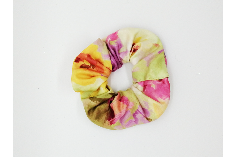 chouchou made in france fait main scrunchie