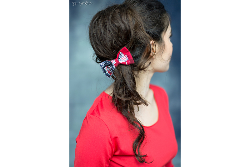accessoire cheveux barrette noeud made in France