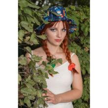 chapeau de soleil chevaliers made in france bob plage